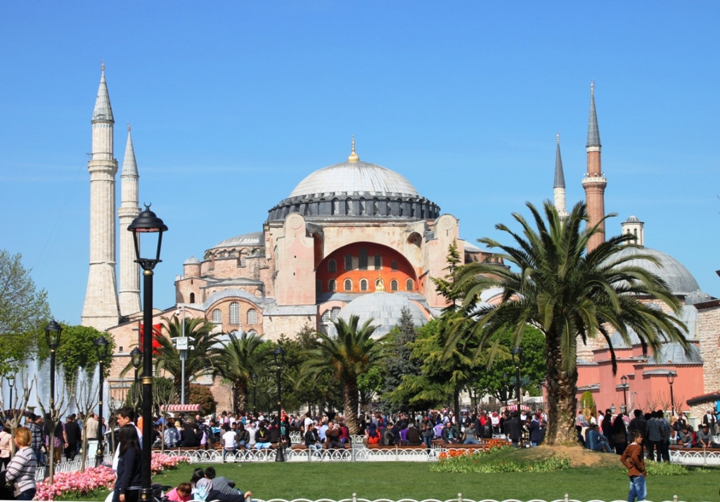 The View of the Hagia Sophia